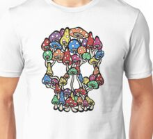 Skull Mushrooms Unisex T-Shirt