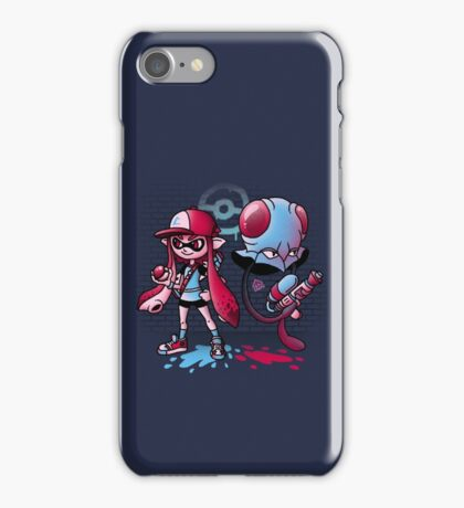 Inkling Trainer // Collaboration with Drew Wise iPhone Case/Skin