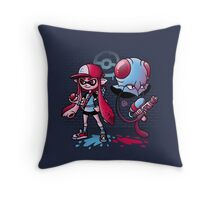 Inkling Trainer // Collaboration with Drew Wise Throw Pillow