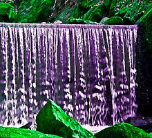 The purple falls by Michael Brewer