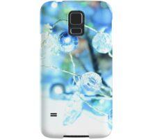 Snowy Winter Garland Samsung Galaxy Case/Skin