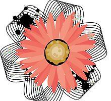 Ribbioned Flower by UniHorseRabbit