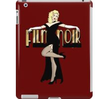 Film Noir Pinup iPad Case/Skin