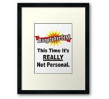 Bangtoberfest Framed Print