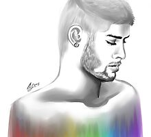 Zayn - Invisible, like his Colours by AnisaJayy