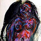 Femme bleue by ArtLacoque