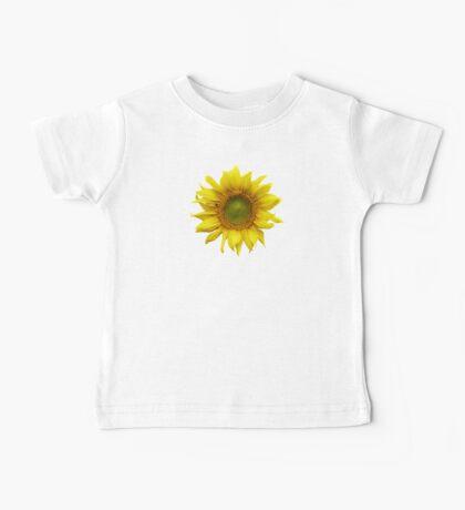 Sunny Sunflower Baby Tee