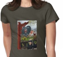 Grandmother's House Womens Fitted T-Shirt