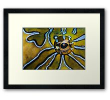 Eye-Liner Framed Print