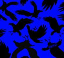 The Black Birds Sticker