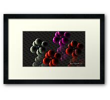 Berry: Complex carbs for Androids Framed Print