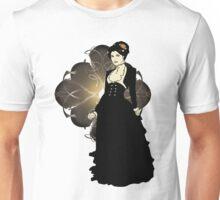 Sepia Tone Victorian Lady Unisex T-Shirt