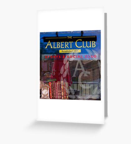 ALBERT MASHUP #2 Greeting Card