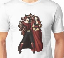 The Queen and Red Riding Hood Unisex T-Shirt