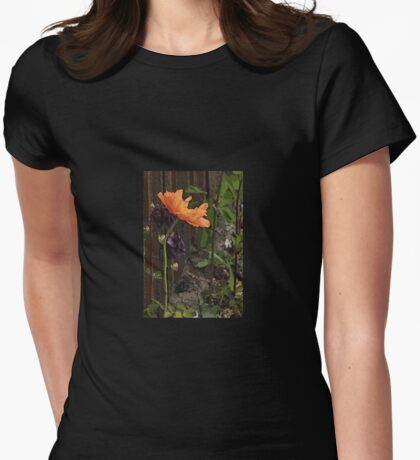 Göteborg Alley Poppy Womens Fitted T-Shirt