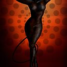 Catwoman Pinup by CatAstrophe
