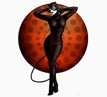 Catwoman Pinup Unisex T-Shirt