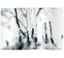 Icicle Drip Poster