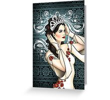 Snow White Ice Queen Greeting Card
