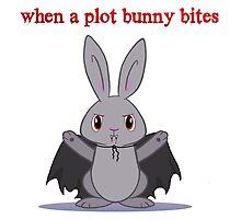When Plot Bunnies Bite by Catherine Dair