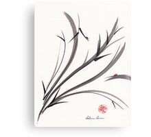 """""""My Dear Friend""""  Original ink and wash ladybug bamboo painting/drawing Metal Print"""
