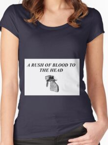 A Rush of Blood to the Head 2 Women's Fitted Scoop T-Shirt