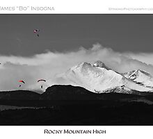 Rocky Mountain High Poster Print by Bo Insogna