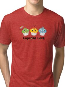 Cupcake Love II Tri-blend T-Shirt