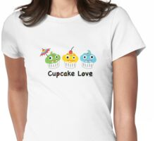 Cupcake Love II Womens Fitted T-Shirt