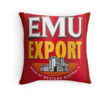 EMoo Export Throw Pillow