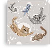 Space Cats Canvas Print