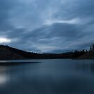 Lake Schwatka by moonlight by Yukondick