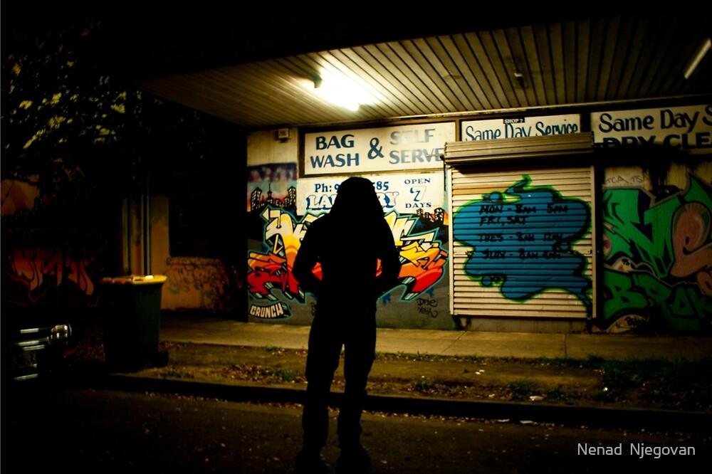 Sydney Graffiti #9 by Nenad  Njegovan