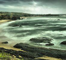 Almograve on a windy day by Rick  Senley