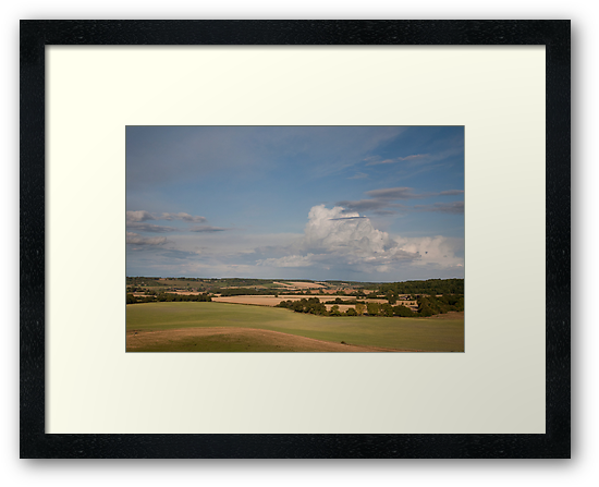 Storm Clouds Passing over the Chilterns by hinomaru