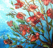 Cherry Blossom Charmers  by Linda Callaghan