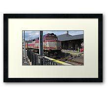 1050 MBTA Commuter Rail Framed Print