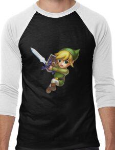 Toon Link Men's Baseball ¾ T-Shirt