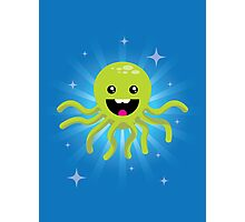 Happy Octopus Photographic Print