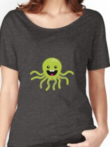 Happy Octopus Women's Relaxed Fit T-Shirt