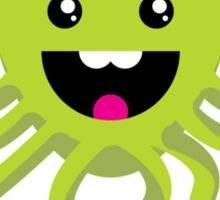 Happy Octopus Sticker