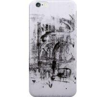 Contraintes et Abandon #5 - Monotype on Wenzhou Paper  iPhone Case/Skin