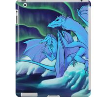 ice dragons iPad Case/Skin