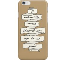 Marauder's Map iPhone Case/Skin