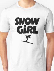 Snowgirl Apres Ski Unisex T-Shirt