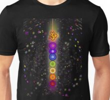 CHAKRA COSMIC CONNECTION Unisex T-Shirt