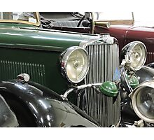 Green Sunbeam Car Photographic Print