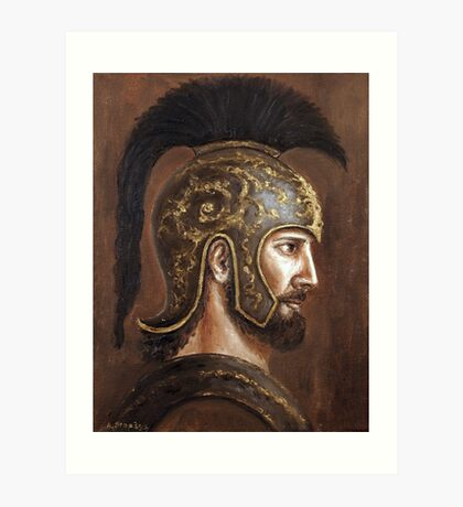 Hector  (Prince of Troy) Art Print