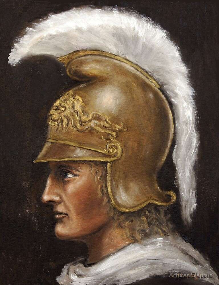 Alexander The Great by Arturas Slapsys