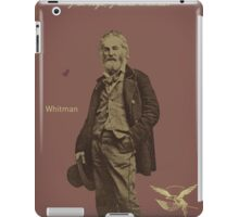 Whitman iPad Case/Skin